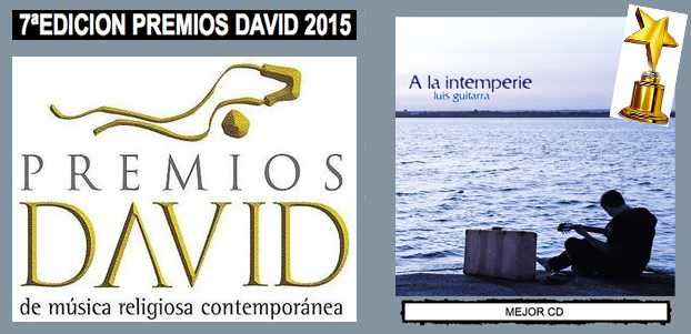 Premio David al mejor CD 2015. A la intemperie (Luis Guitarra)